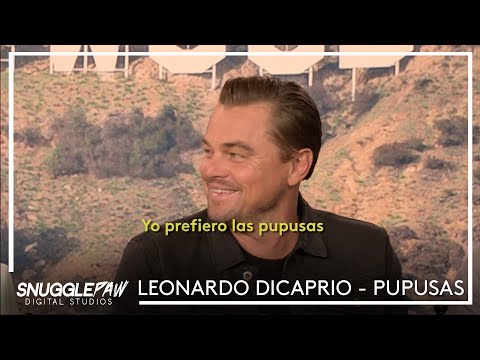 Once Upon a Time in Hollywood | Leonardo Dicaprio pupusas - YouTube