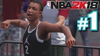 DEREK JETER CAREER MODE! | NBA 2K18 | MyCareer #1