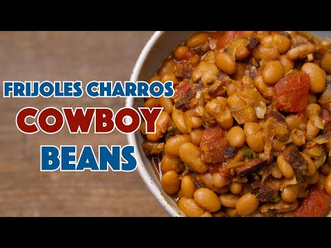🔵 Charro Beans In A Slow Cooker Frijoles Charros || Glen & Friends Cooking