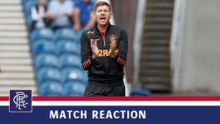 REACTION | Steven Gerrard | Rangers 4-0 Marseille