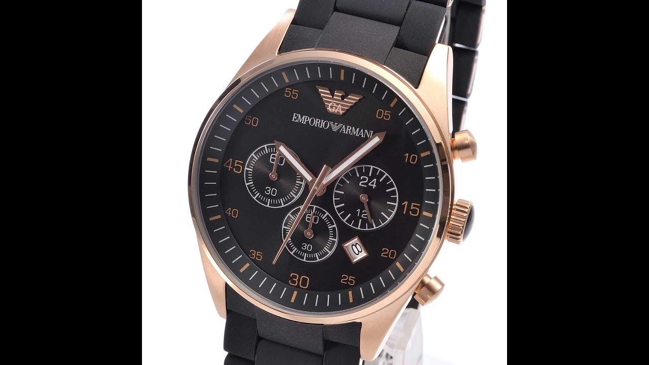 узнать emporio armani ar5905 mens watch для