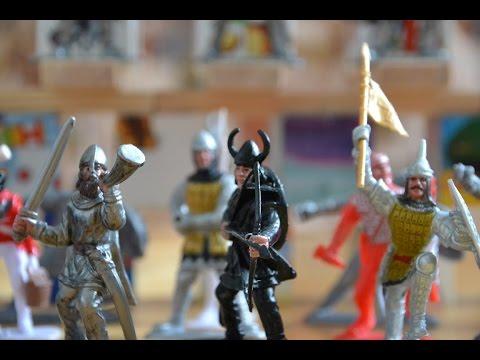 Война солдатиков: Две Крепости. Игры для мальчиков. | Toy soldiers war. Games for boys