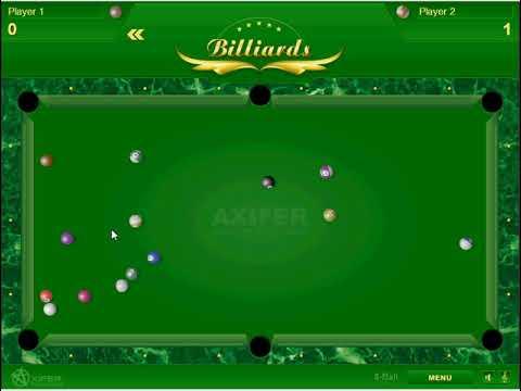 Billiard Browsergame