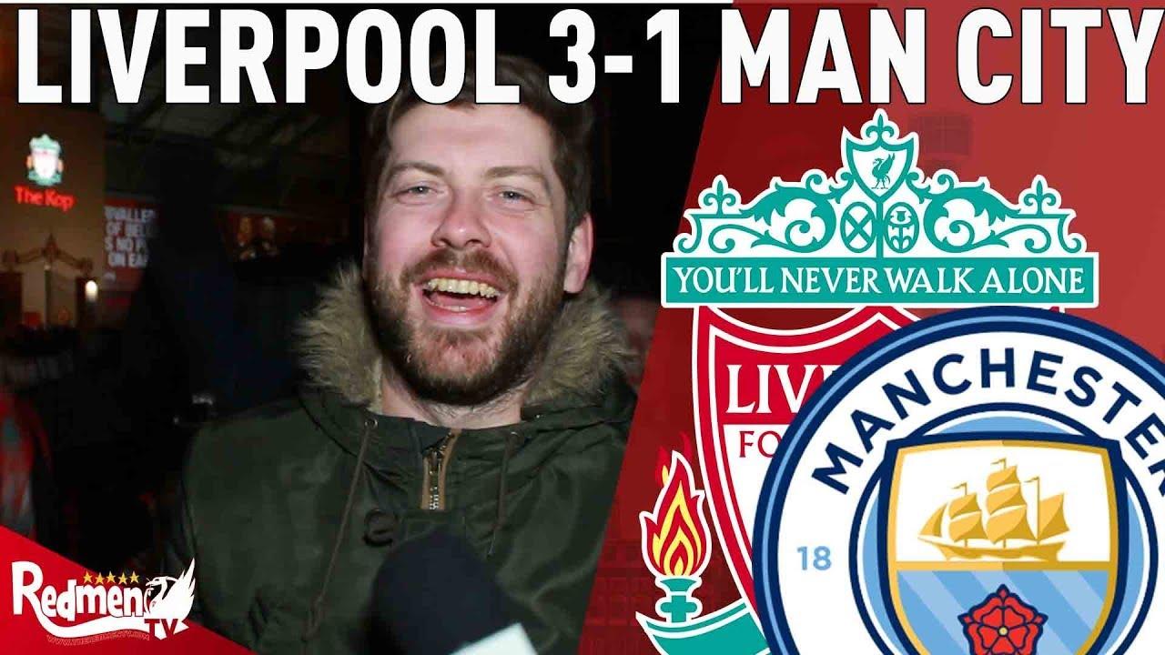 Liverpool 3 1 Man City All Post Match Content The Redmen Tv