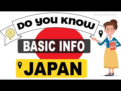Do You Know Japan Basic Information | World Countries Information #87 - General Knowledge & Quizzes