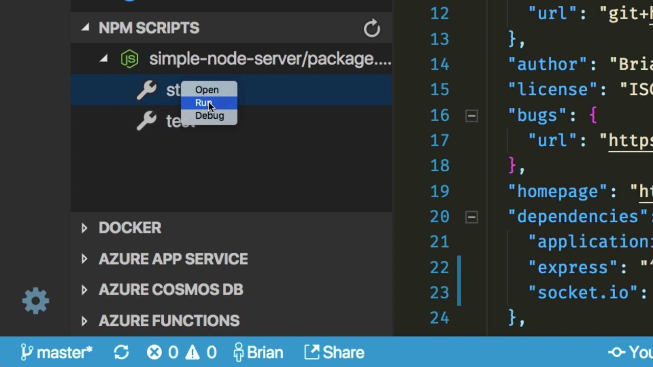 VS Code Tips: NPM Scripts Explorer