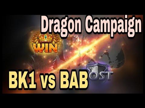 BK1 Vs BAB | CoK DC S7 | BK1 Rally | Papi ~208~ | Mr. Latinoo | Highlights/Battle Report Analysis