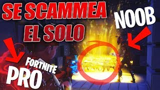 😟😤 SCAMMER *NOOB* SCAMMED ONLY! 😠🤬 - Fortnite Save the World