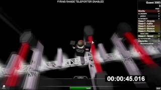 Roblox: VAC Entrance Obstacle Course Speedrun (Under 3 minutes)[NO DEATH]