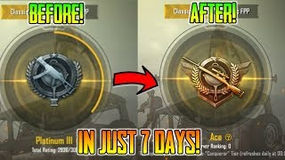 How To Push Platinum To Ace In Just 7 Days | 10 Secret Tips For Pushing To Ace | Pubg Mobile
