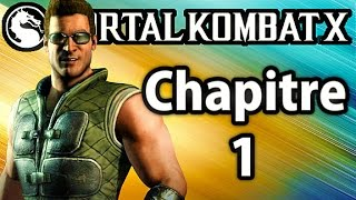 Mortal Kombat X - Mode Histoire Chapitre 1 - Johnny Cage Gameplay Walkthrough FR
