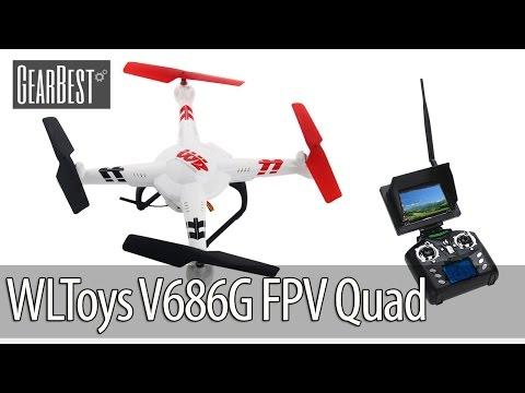 WLToys V686G FPV Drone Test Flight