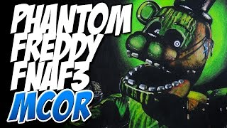 Dibujando a Phantom Freddy de FNAF3