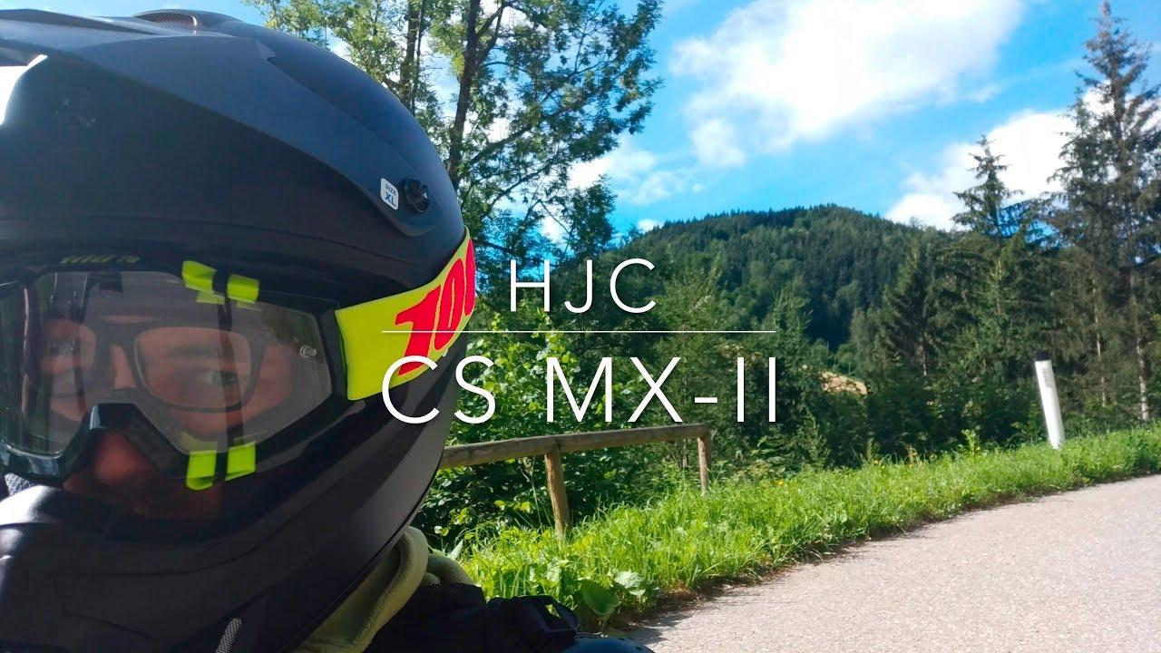 Off-Road//Dirt Motorcycle Helmet HJC CS-MX II Matte Black