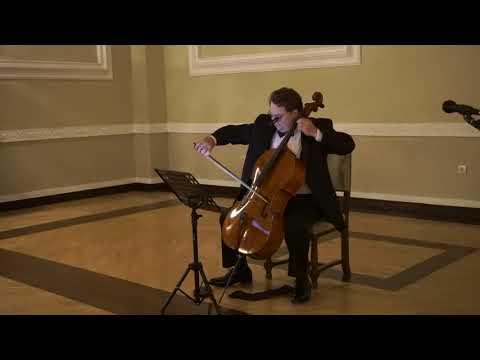 Koncert - Jeffrey Lastrapes-a Violoncelo - Texas Tech University- Cetinje  20.10.17