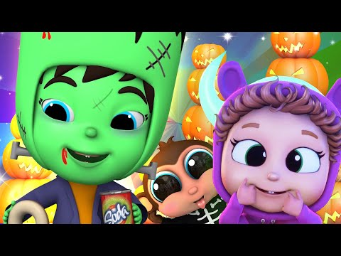Crazy Food Halloween! | Baby Joy Joy On Clap Clap Baby