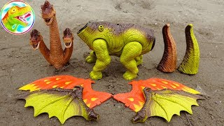 Assembling long-necked dinosaurs with wings - kids toys G523 ToyTV