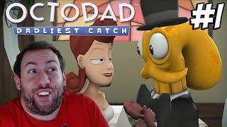 Octodad Dadliest Catch Part 1: Wedding Bells and CHAOS