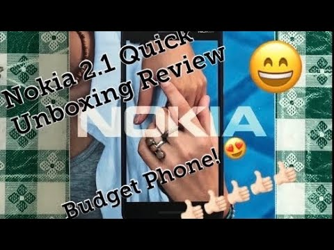 Nokia 2.1 Unboxing Review UAE Version | Budget Phone 2019 | Android phone