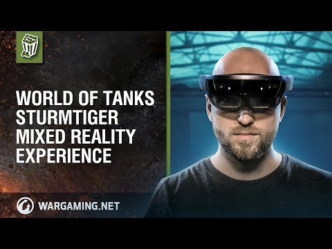 World of Tanks - Sturmtiger Mixed Reality Experience