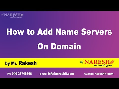 How to Add Name Servers On Domain   Hosting Tutorials   Digital Marketing Tutorials   Mr.Rakesh