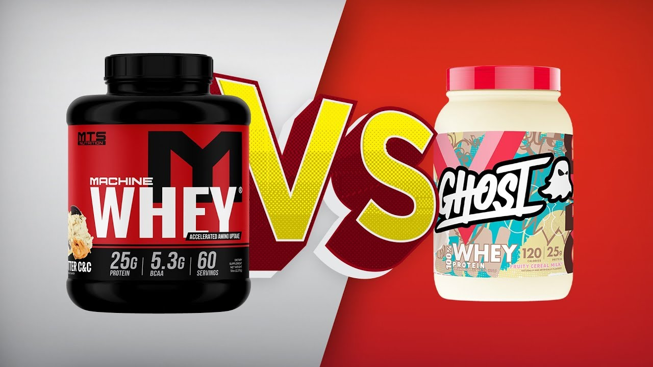 MTS Whey v Ghost Whey | SUPPWARS – Maia and Michaela