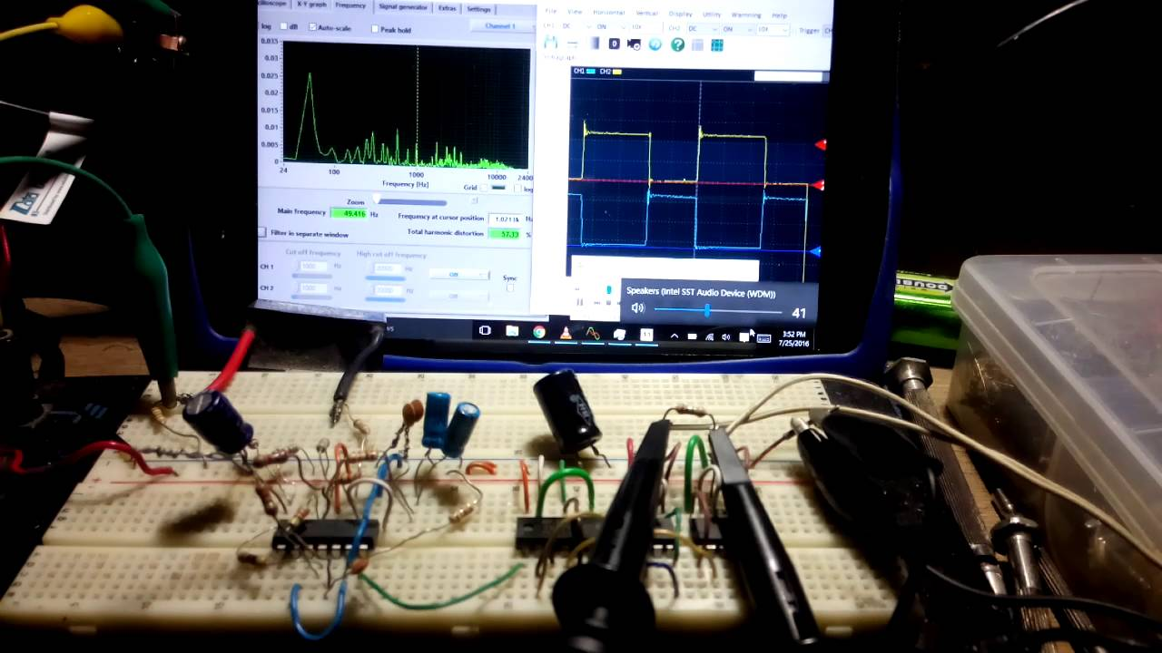 Class D Amp Using Lm319 Comparator Youtube Amplifier Circuit