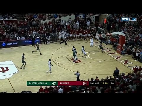 Justin Smith Soars for the Dunk vs. Eastern Michigan