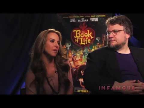 Guillermo del Toro, Jorge Guiterrez and Kate del Castillo Interview - THE BOOK OF LIFE