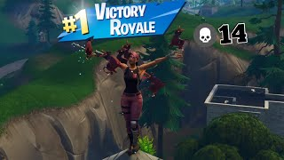 *intense battles* Carrying Iceyy-InstinctYT in a Duos match 14K (Fortnite Battle Royale)