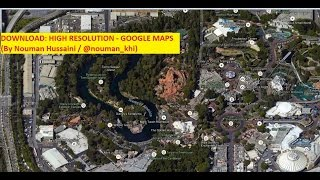 Download Google Earth High Resolution Maps Free HD Video