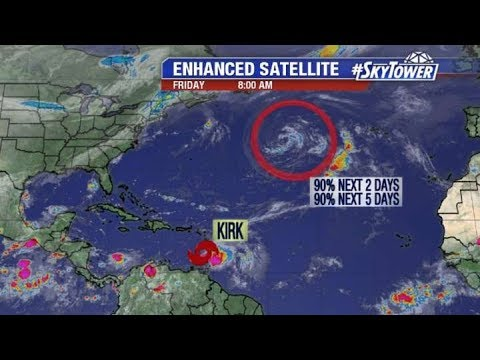 Tropical weather forecast: September 28, 2018