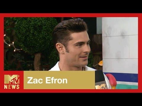 Zac Efron is Proud of Adam Devine | 2017 MTV Movie Awards | MTV News