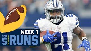 Top 5 Runs (Week 1)   2016 NFL Highlights