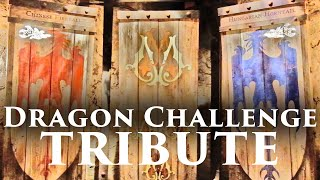 Dragon Challenge Tribute at Universal Orlando - Queue & Ride POV, Islands of Adventure