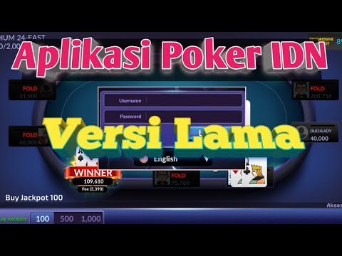 Cara Download Aplikasi Poker Idn Versi Old Youtube