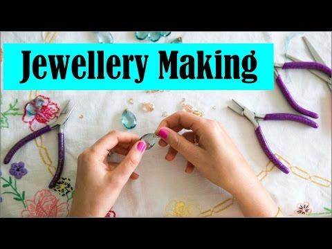 Jewellery Making Hindi by Radhapriya Mataji, Krishna Lila Mataji & Yadurani Mataji on 3rd April 2016