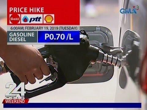 24 Oras: Oil price hike, ipatutupad ng ilang oil firms sa Martes ng umaga