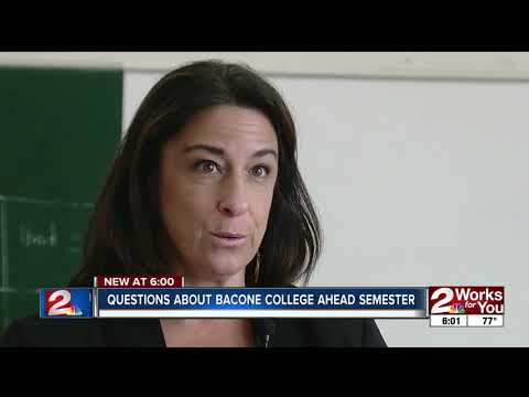 Bacone College opening to questions