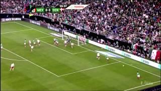 Mexico vs. denmark (1-1) 2013
