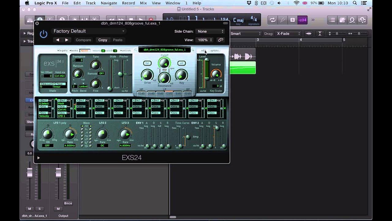 logic pro x convert to new sampler track