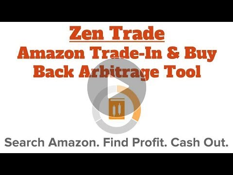 ZenTrade: Amazon trade-in & book buy back arbitrage tool