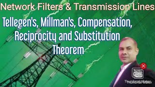 NFTL_Live Session-11: Tellegen's, Millman's, Compensation, Reciprocity And Substitution Theorem