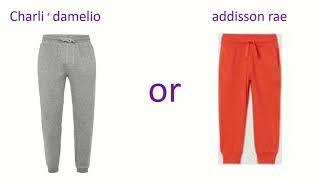 Addison vs charli