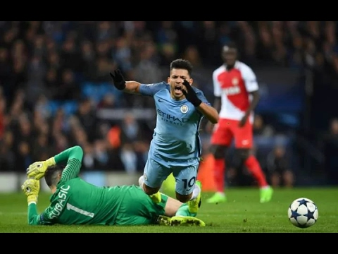Manchester City vs Monaco 5-3 Goal & Highlights 21/02/2017