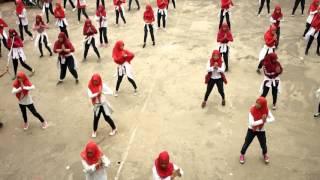 Flashmob Part 1 SMA Muhammadiyah 2 Palembang #Hondaxpresisatuhativaganza2016