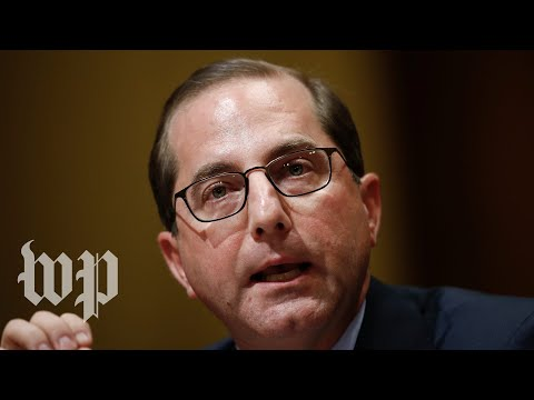 HHS nominee Alex Azar questioned by Senate