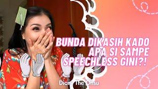 BUNDA DIKASIH KADO APA SIH SAMPE SPEECHLESS BEGITU!!    DIARY THE ONSU (7/11/20) P4