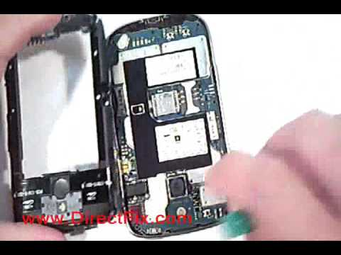 How To: Replace Blackberry Bold 9000 Screen | DirectFix.com