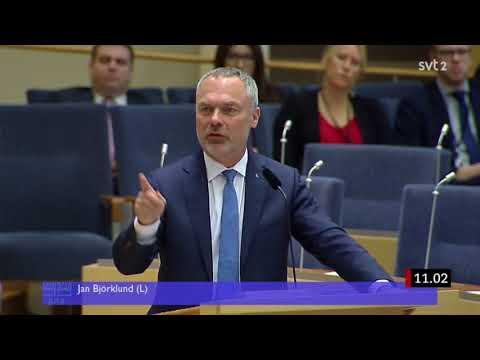 Partiledardebatt 2018 - Jimmie Åkesson vs. Jan Björklund - Om NATO & Kärnvapen